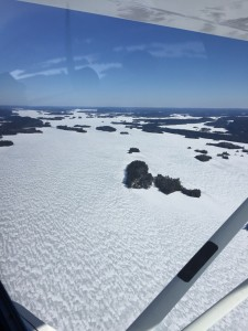Lots of ice on April 10